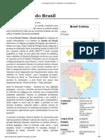 Colonização Do Brasil – Wikipédia, A Enciclopédia Livre