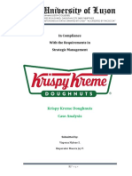 Krispy Kreme Analysis Final