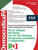 Manifesto PA