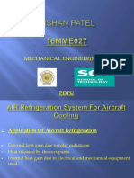 air refrigeration cycle ppt