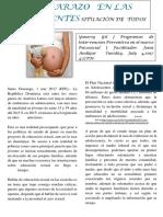 Articulo El Embarazo en Adolescente