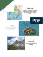 Infografía de geografía