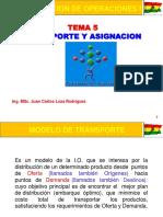 Tema 5 Transporte y Asignacion