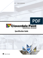 paint specification guide