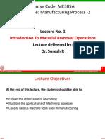 MEC305A Lecture 1