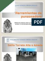 Herramientas de Punzonadora Boschert vs Torreta Alta