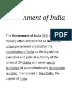 Government of India - Wikipedia.pdf