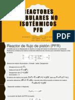 Reactores Tubulares No Isotérmicos