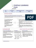 startalk learning plan 2019 day 1  1