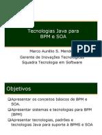 Tecnologias Java Para BPM e SOA