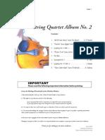 String Quartet Album No 2