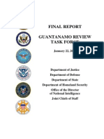 Guantanamo Review Final Report (01.22.2010)