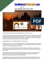 Medina Kebab SL - 958701041 - Kebab meat manufacturer 100% Halal - Baza Granada - Busca distribuidores toda España - Kebab Carne - España Spain