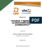 Informe Retroalimentado Julio 2019 Carlos Chávez