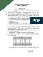Segundo Examen Parcial de Hidrologia Uncp 2008-II