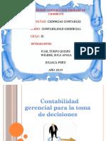 Toma de Decisiones Contabilidad Gerencial 12