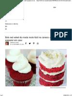 Bolo Red Velvet Da Moda Muito Fácil Na Caneca_ Aprenda a Preparar Em Casa - VIX