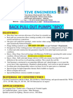 1.6 Back Pull Out - Bpo Pumps