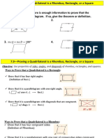 Proving a quadrilateral