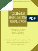Termodinamica y Cinetica de Sistemas Alimento