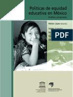 POLITICAS DE EQUIDAD EDUCATIVA EN MEXICO