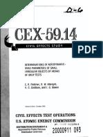 AERODYNAMIC DRAG PARAMETERS OF SMALL IRREGULAR OBJECTS - US AEC (1961)