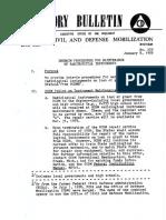 Advisory Bulletin No. 229 Interim Proced for Maint of Rad Instruments