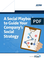 Social Playbook to Guide Social Strategy