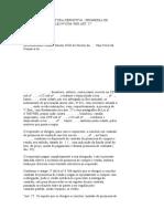 modelo de Outorga de Escritura Definitiva