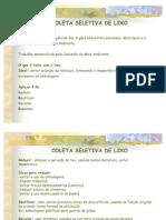 Coleta Seletiva  _ 2008