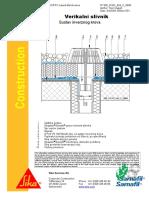 Sintetiƒke Membrane - Inverzni Krov - Vertikalni Slivnik