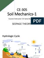 Ce-305 Seepage Theory