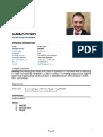 CV Mahmoud Dridi c