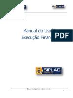 SIPLAG Execução Financeira