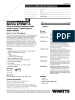LFCWH-S Specification Sheet