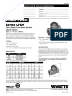 LFCV, LFCVS Specification Sheet