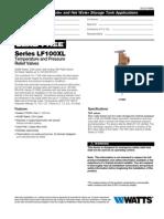 LF100XL Specification Sheet