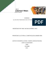 Evidencia Propuesta El Discurso Pedagogico en Actividades de Formacion