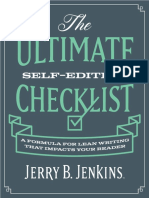 The Ultimate Self Editing Checklist