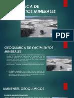 Geoquímica en Yacimientos Minerales - Grupo 04