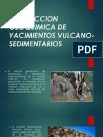 Prospeccion Geoquimica de Yacimientos Vulcano Sedimentarios Diapositivas Copia