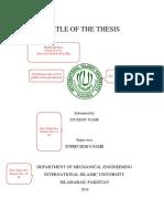 IIU UnderGrad Thesis Format (1)