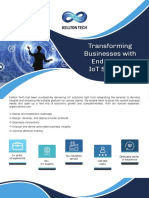 Brochure - Transforming Businesses With End-To-End IoT Solutions