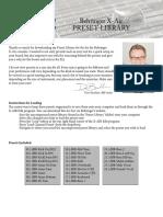 X-Air Preset Library PDF.pdf
