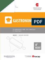 Gastronomia Elaboracion de Masas y Pastas