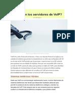 Servidores de VoIP
