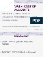 Lecture 4 Cost of Accident