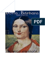 Analisis de La Obra Doña Barbara