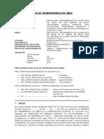 35. Acta de Transferencia Puestos de Salud Paquete de 06 Docx