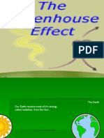 Green House Effect .